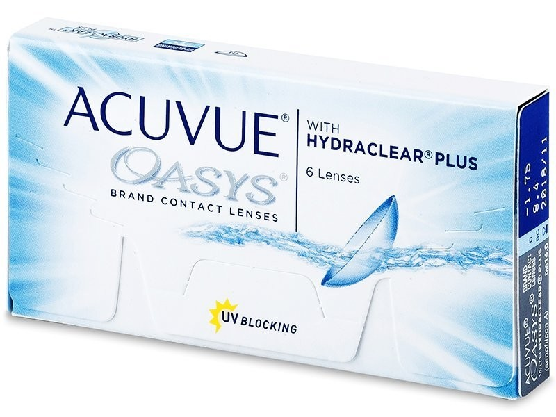 ACUVUE® OASYS™ with HYDRACLEAR® Plus