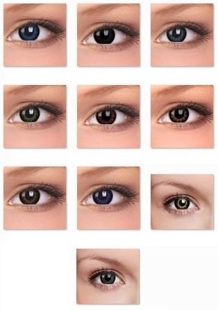 ColourVUE Big Eyes (2 čočky) - dioptrické