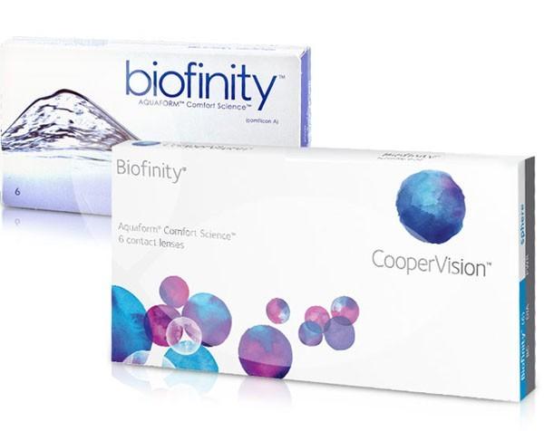 Biofinity (6 čoček) + roztok Zero Seven 120ml