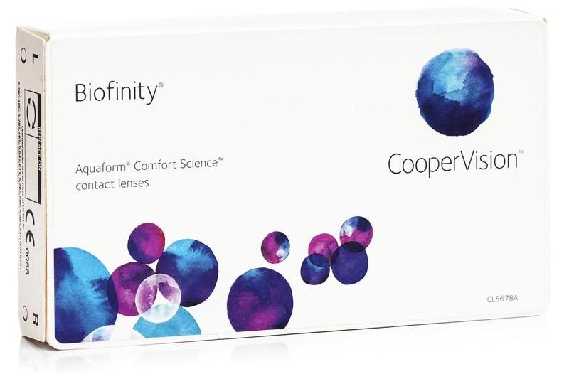 Biofinity (3 čočky)