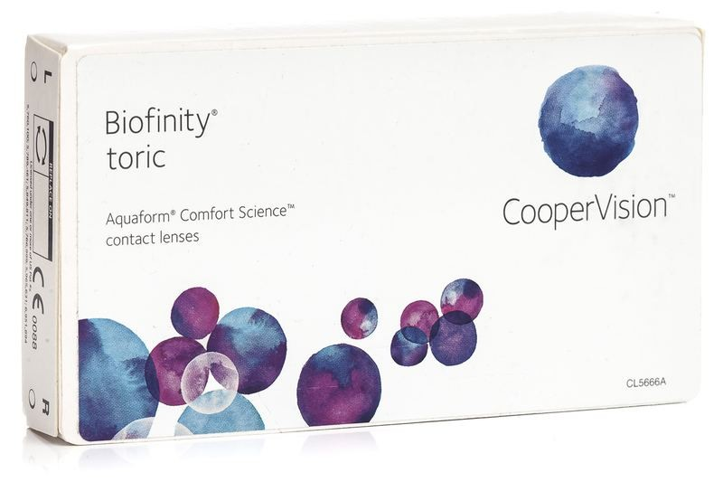 Biofinity Toric (6 čoček)