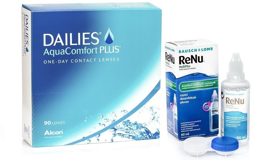 DAILIES® AquaComfort Plus™ (90 čoček)