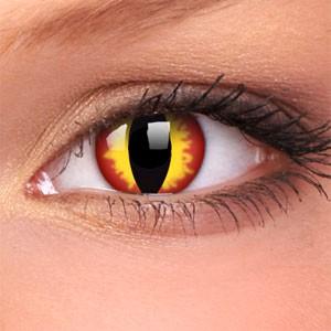 barevné čočky CRAZY dragon eyes 2ks