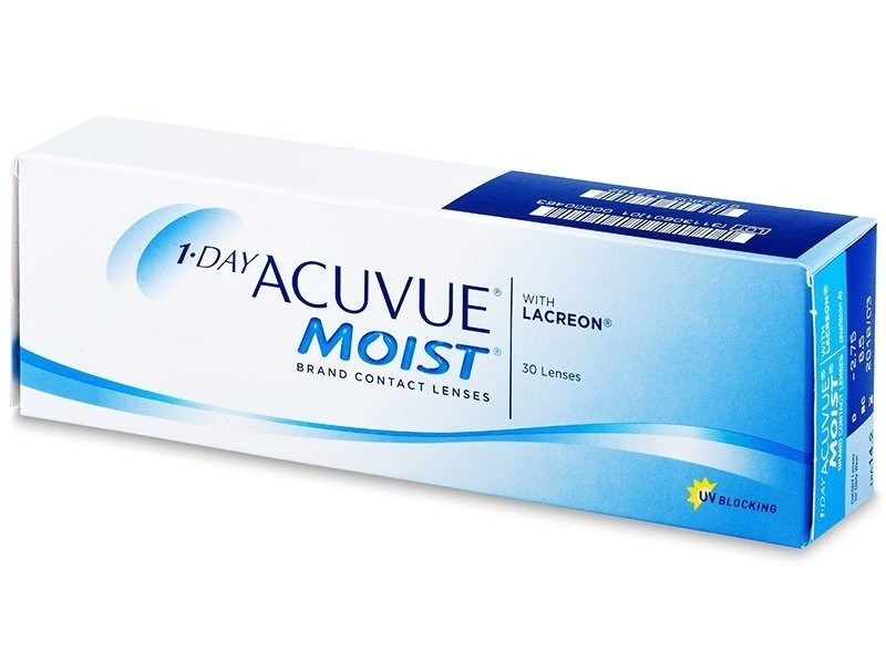 1•DAY ACUVUE MOIST (30 čoček)