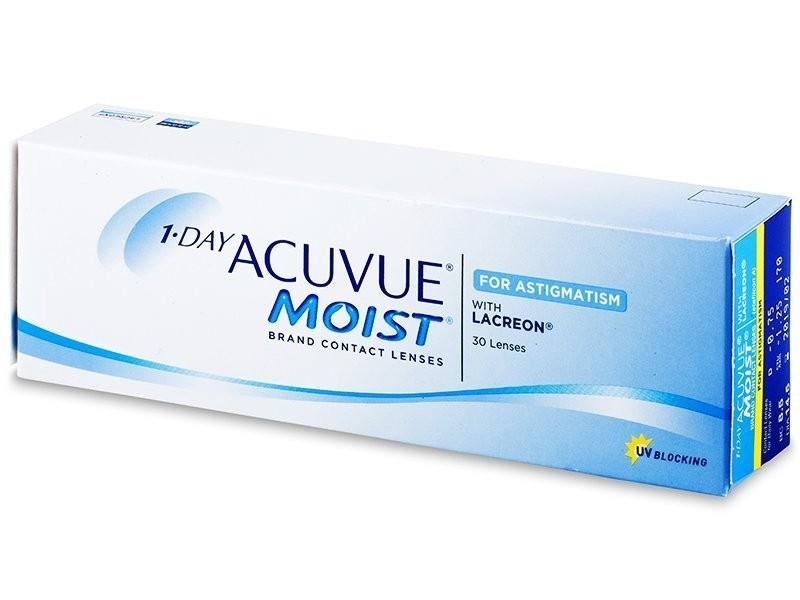 1-Day Acuvue Moist for Astigmatism (30 čoček)