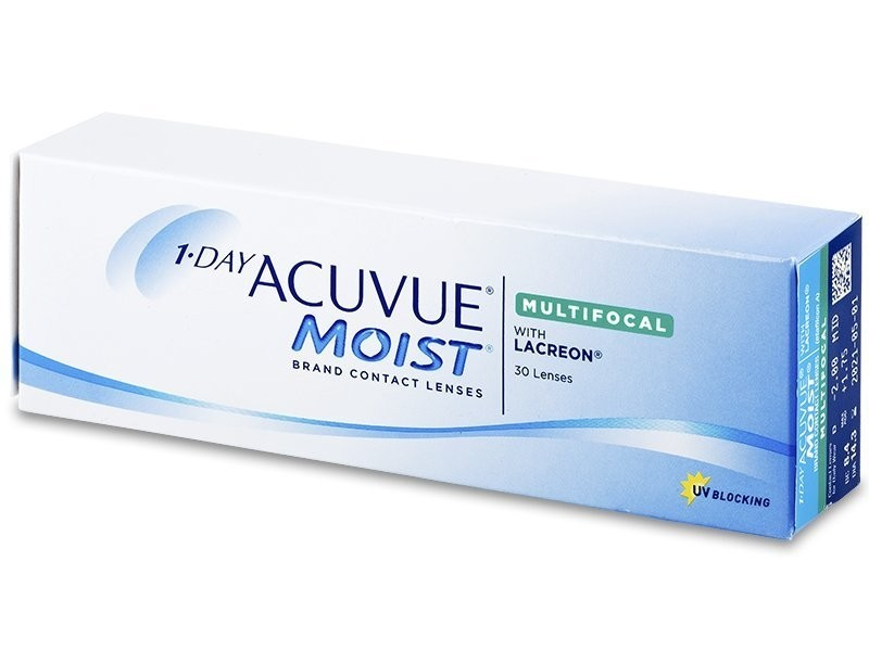 1-Day Acuvue Moist for Astigmatism (30 čoček)