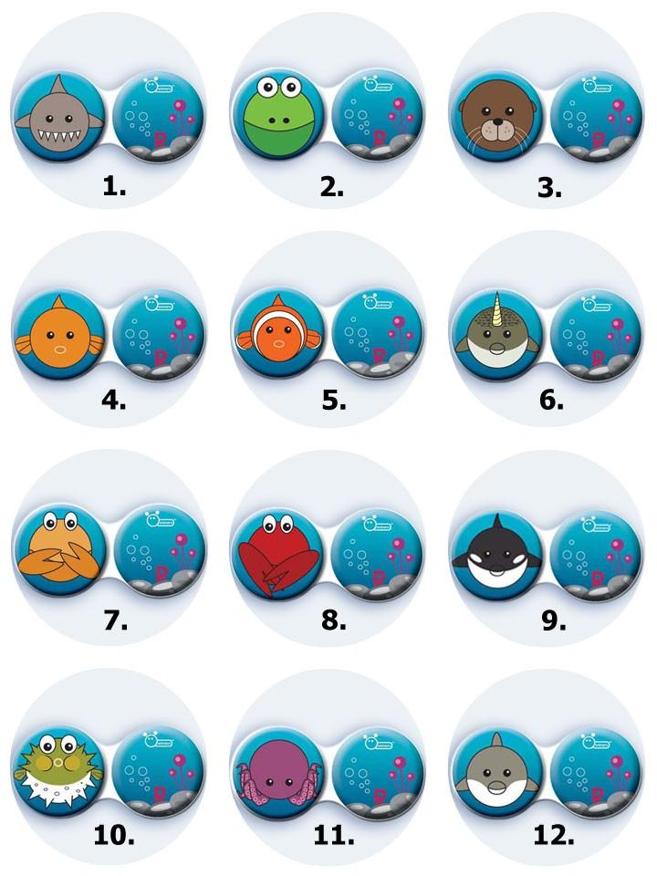 antibakteriální pouzdro ozdobné - Moře