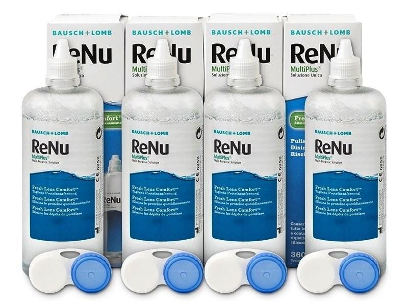 ReNu MultiPlus 3 x 360 ml s pouzdry