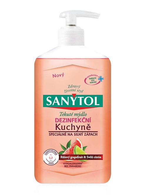 Sanytol dezinfekční mýdlo do kuchyně - Grapefruit & Limetka 250 ml