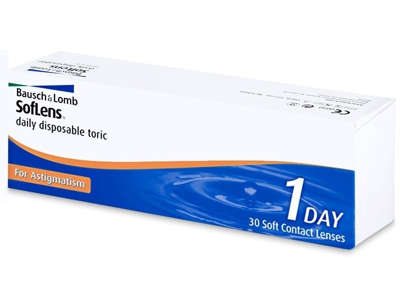 SofLens daily disposable Toric for Astigmatism (30 čoček)