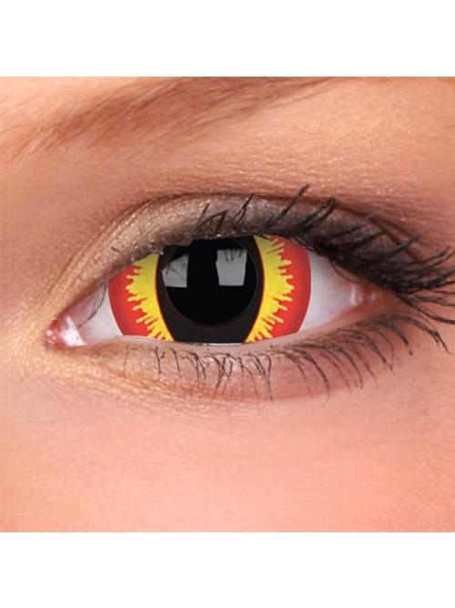 CRAZY Smaug´s Eyes 17 mm (2 čočky roční)