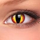 barevné nedioptické čočky jednodenní CRAZY dragon eyes