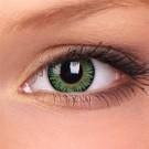 barevné čočky dioptrické 3 TONE green (2 čočky)