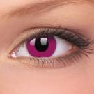barevné čočky CRAZY purple 2ks