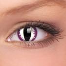 barevné čočky CRAZY purple dragon 1ks roční