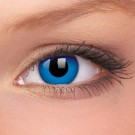 barevné čočky CRAZY royal blue 1ks roční