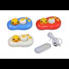 vibrační sestava na kontaktní čočky - kačenka v rybníčku